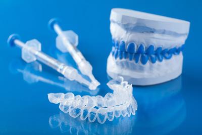 Utstyr til bruk for tannbleking